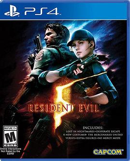 NUEVO - Resident Evil 5 PS4