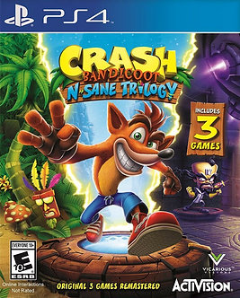 NUEVO - Crash Bandicoot N Sane Trilogy Ps4
