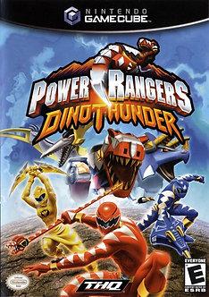 USADO - POWER RANGERS DINO THUNDER GAME CUBE