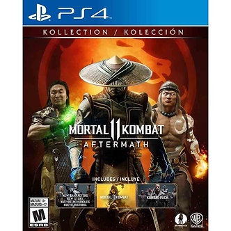NUEVO - MORTAL KOMBAT 11 AFTERMATH PS4