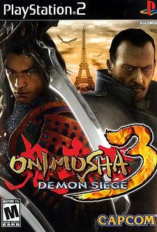 USADO - ONIMUSHA 3 PS2