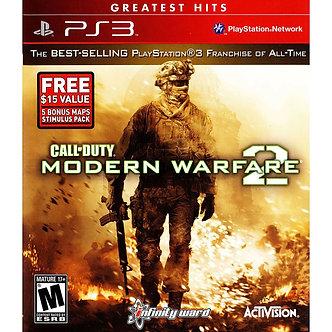 USADO - CALL OF DUTY MODERN WARFARE 2 PS3