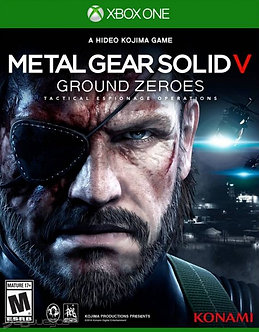USADO - METAL GEAR SOLID V GROUND ZEROES X BOX ONE