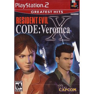 USADO - RESIDENT EVIL CODE VERONICA PS2