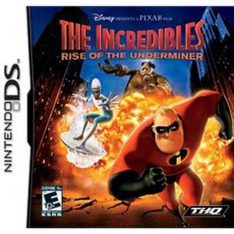 USADO - THE INCREDIBLES RISE OF THE UNDERMINER DS