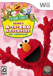 NUEVO - SESAME STREET ELMO'S A TO ZOO ADVENTURE WII