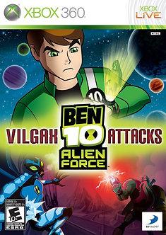 USADO - BEN 10 VILGAX ATTACKS XBOX 360 COVER