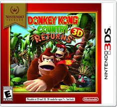 USADO - DONKEY KONG COUNTRY RETUNRS 3DS