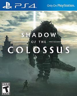 USADO - SHADOW OF THE COLOSSUS PS4