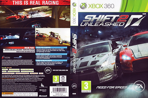USADO - NEED FOR SPEED SHIFT 2 UNLEASHED XBOX 360