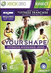 USADO - YOUR SHAPE FITNES EVOLVED 2012 XBOX 360