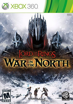 NUEVO - THE LORD OF THE RINGS WAR IN THE NORTH X360