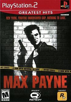 USADO - MAX PAYNE PS2