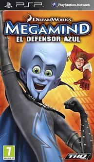 USADO - MEGAMIND EL DEFENSOR AZUL PSP