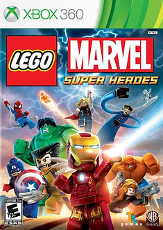 USADO - LEGO MARVEL SUPER HEROES XBOX 360
