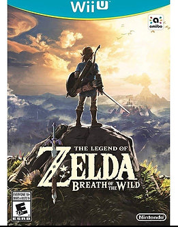 NUEVO - LEGEND OF ZELDA BREATH OF THE WILD WII U