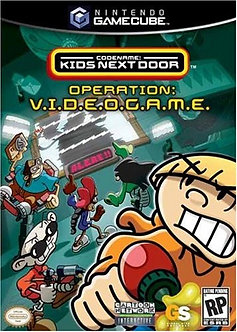 USADO - KND OPERATION: VIDEOGAME  GAME CUBE