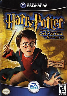 USADO - HARRY POTTER CHAMBER OF SECRETS GAME CUBE