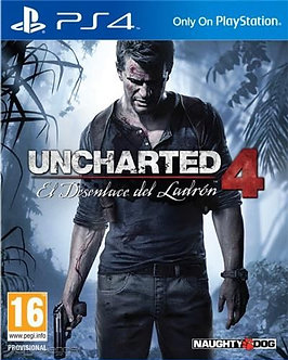 USADO - UNCHARTED 4 PS4
