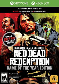 NUEVO - Red Dead Redemption Game Of The Year Edition Xbox 360/one