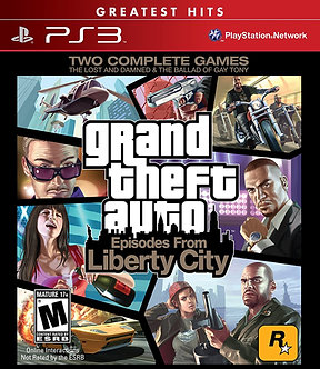 NUEVO - GRAND THEFT AUTO EPISODES FROM LIBERTY CITY PS3