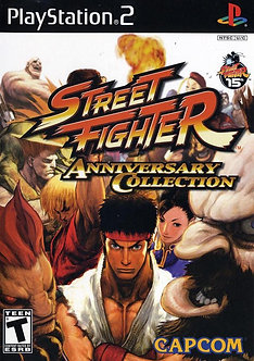 USADO - Street Fighter Anniversary Collection Ps2