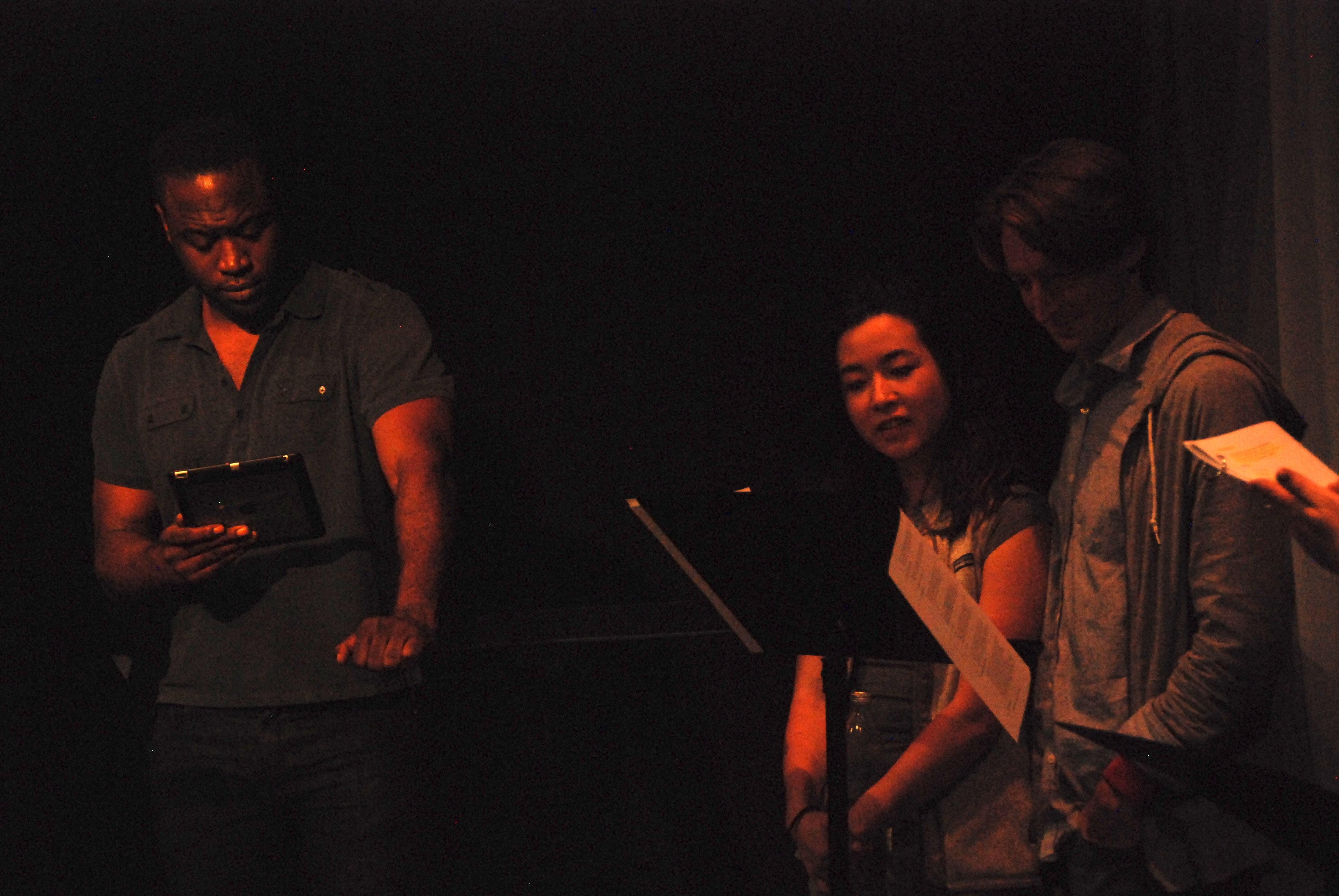 Theseus, Hermia, and Lysander