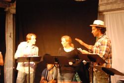 Lysander, Helena, and Demetrius
