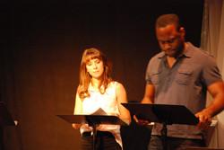 Hippolyta and Theseus