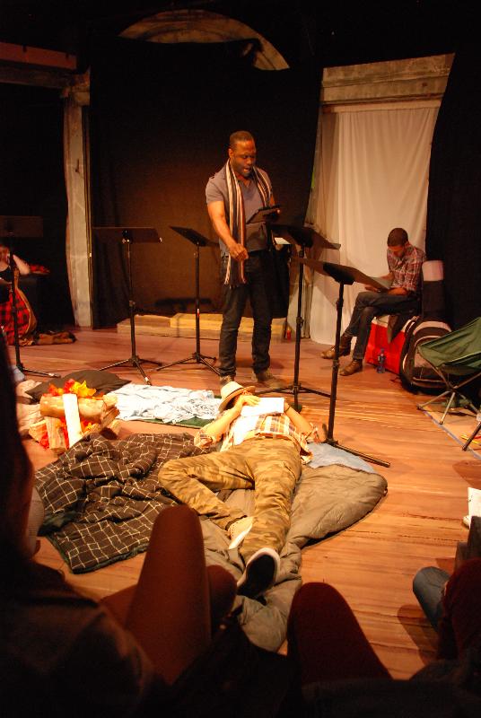 Oberon casts his spell on Demetrius