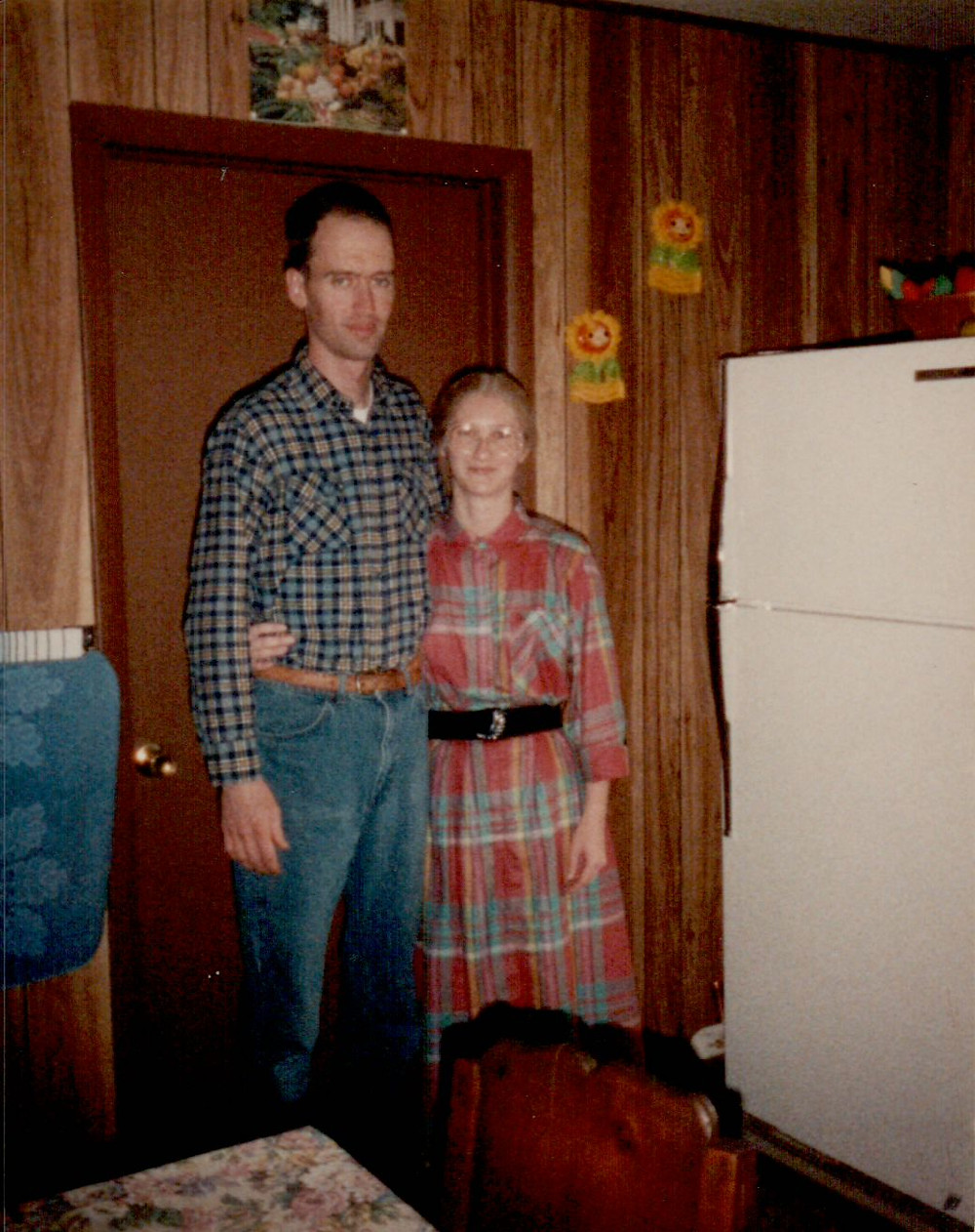 Roger and Linda Corn in the 1990's