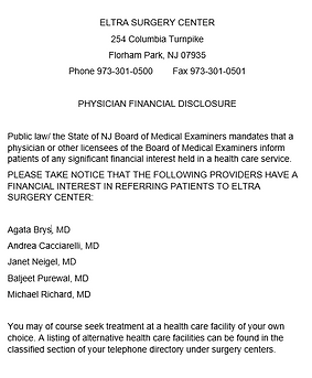 2020 Physician Financial Disclosure imag