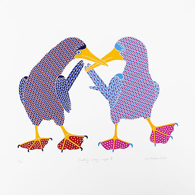 Liz Whiteman Smith_Courting booby couple