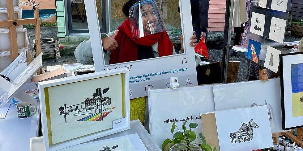 Blue House Yard art market (10 Oct)