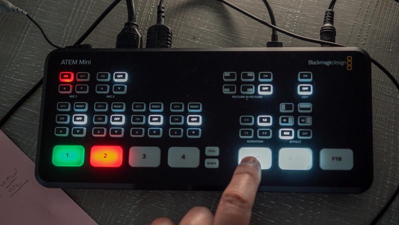 H ΒΜ ATEM Mini κάνει τη λύση παιχνιδάκι