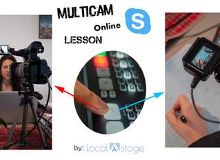 Teach online like a PRO (switch cameras + high sound quality)