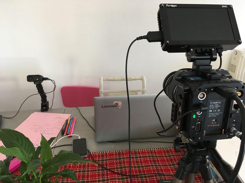 Παράδειγμα χρήσης cine camera στο setup... Ακραίο, αλλά γίνεται!
