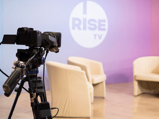 To RISE TV ζωντανά από το EUandU