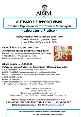 31-3 e 1-4 Supporti Visivi- Laboratorio Pratico