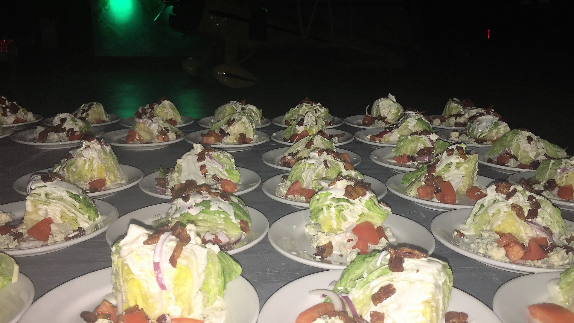 Plated Wedge Salad