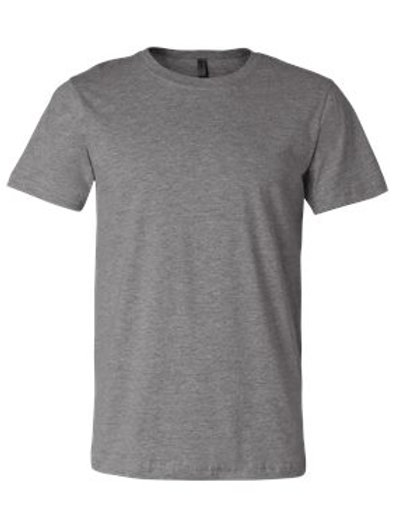 Unisex Cotton Tee - Heathered Colors