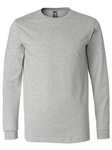 Jersey Long Sleeve Tee - Athletic Heather