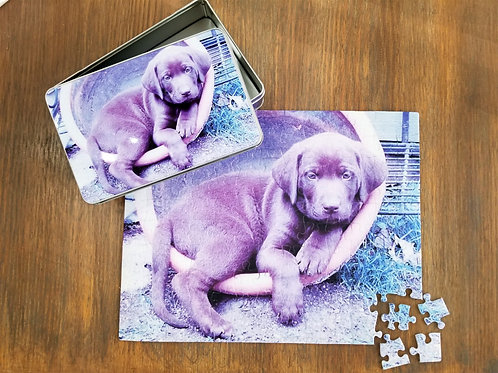 Personalized Puzzle with Gift Box