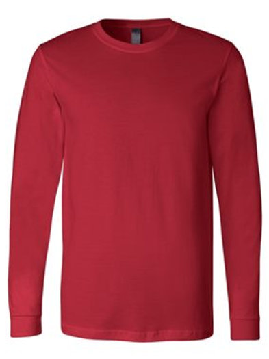 Jersey Long Sleeve Tee - Red