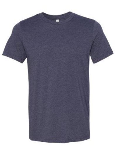 Soft Unisex Tee - Heather Midnight Navy