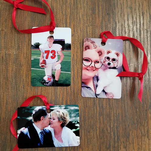 Ornaments - 2 Sided & Personalized