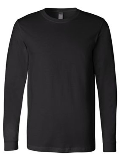 Jersey Long Sleeve Tee - Black
