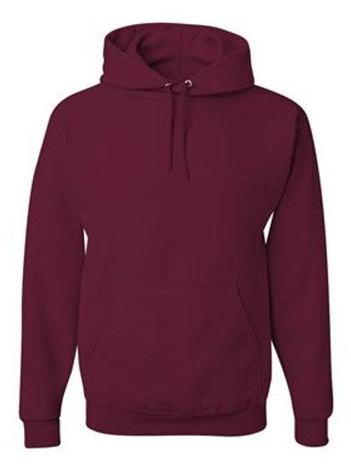 Hooded Sweatshirt -Maroon