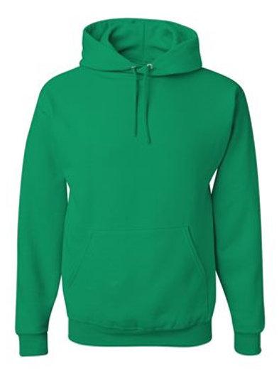 Hooded Sweatshirt -Kelly Green