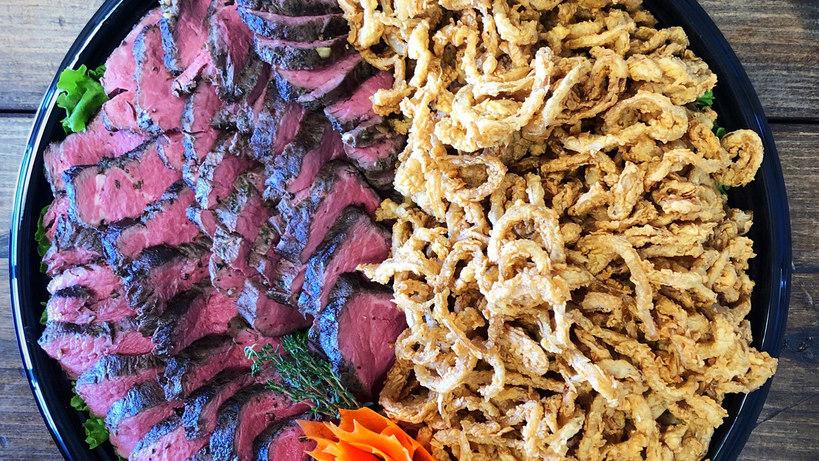 Beef Tenderloin Display